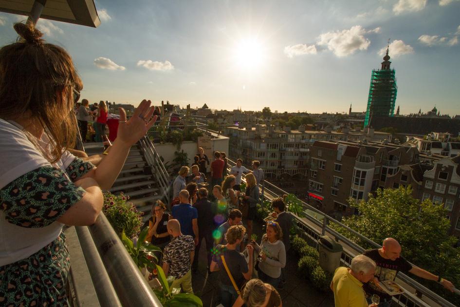 ROEF Amsterdam: het dakterrassenfestival van Amsterdam