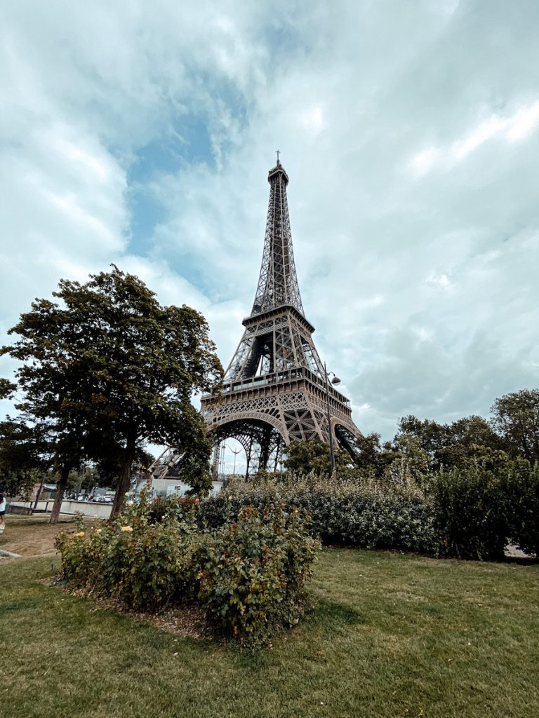 Parijs budget tips: gratis uitzicht Eiffeltoren