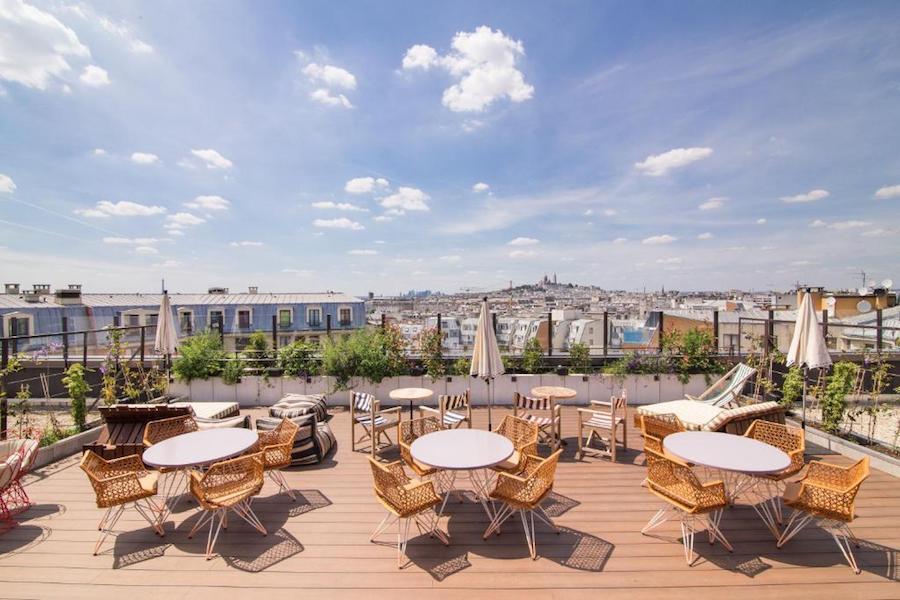 Parijs budget tip: Generator Hostels met dakterras
