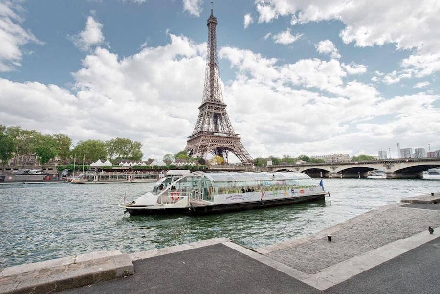 Parijs budget tips: rondvaart boot