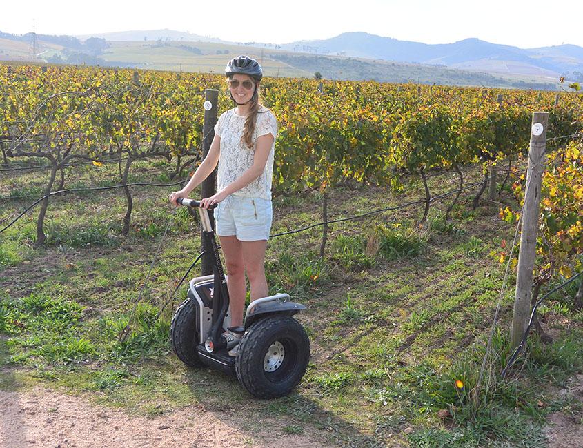 Zuid-Afrika bucketlist: een segway tour door de wijnvelden