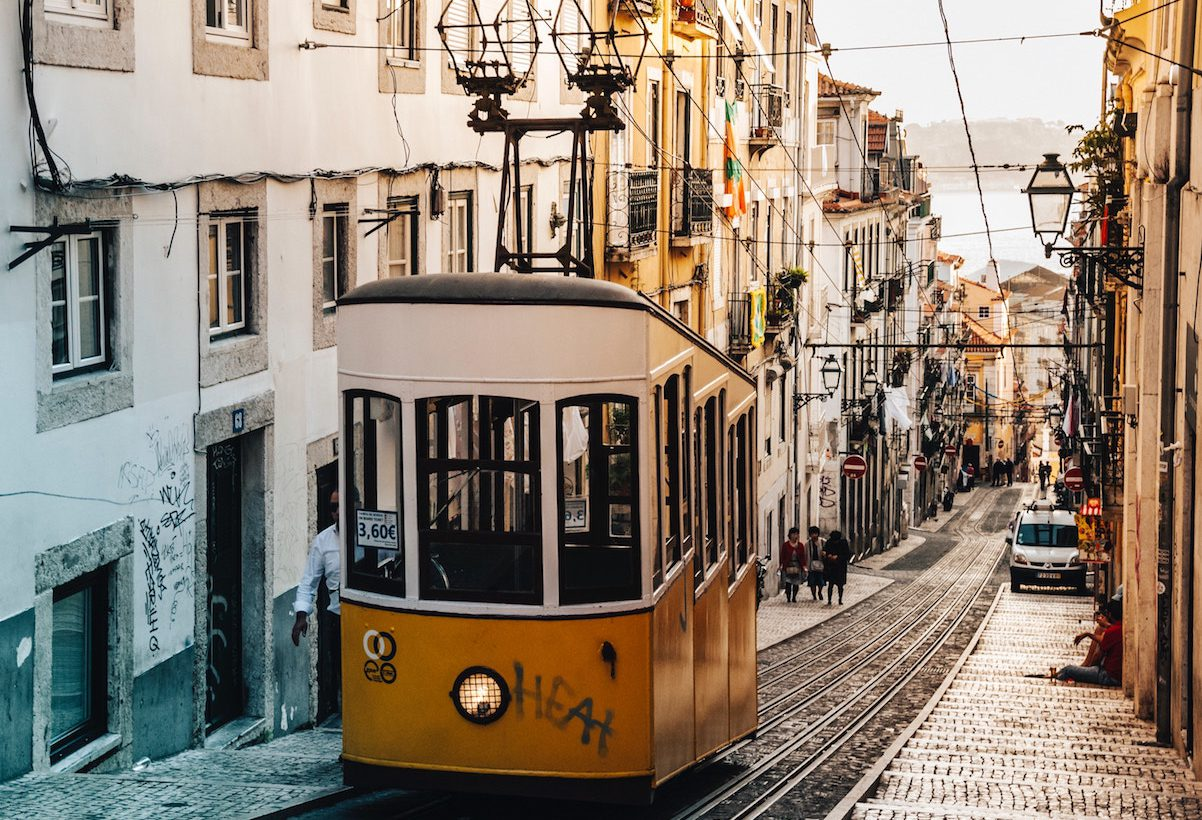 Oud en nieuw in Lissabon vieren