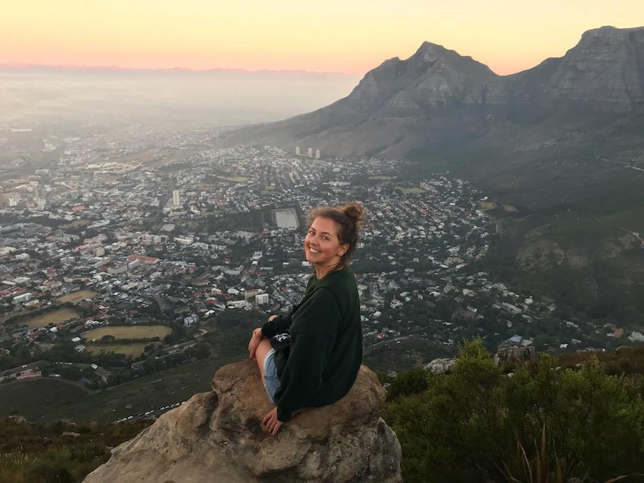 In mijn tweede week als digital nomad in Kaapstad, beklom ik Lion's Head.
