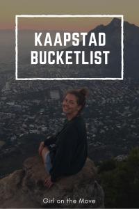 Kaapstad bucketlist