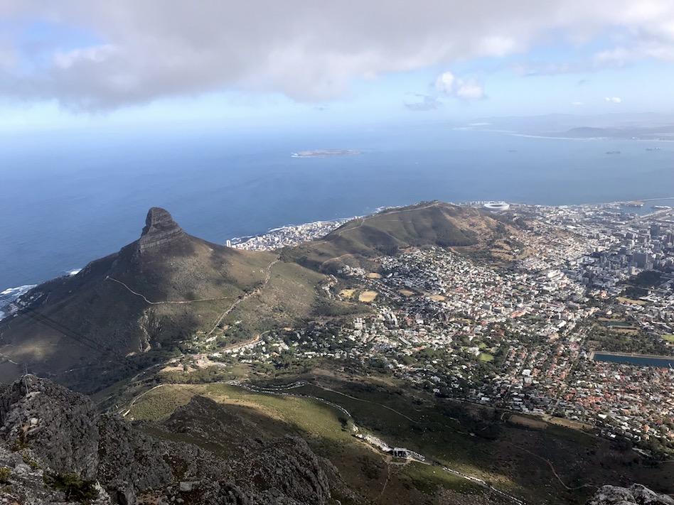 Digital nomad in Kaapstad