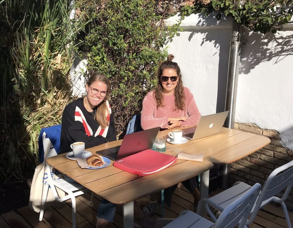 Goede koffie en wifi in Valencia, Spanje