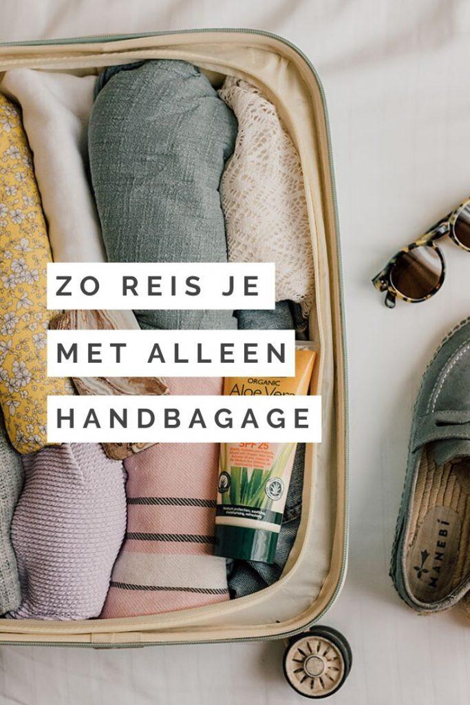 Reizen met alleen handbagage: zo doe je dat