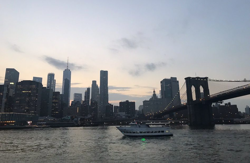 Must do in New York City: Friday Night Sunset Happy Hour Cruise