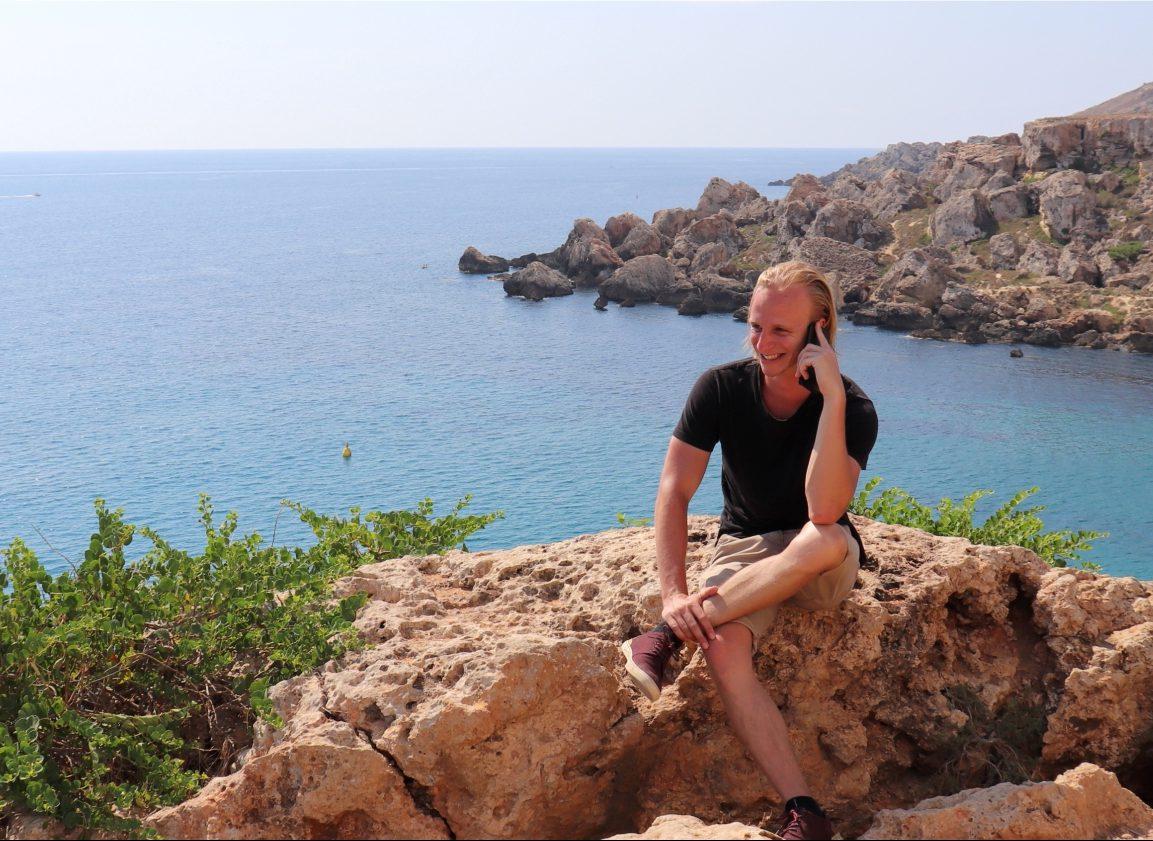 Digital nomad: Mick van Zadelhoff (23)