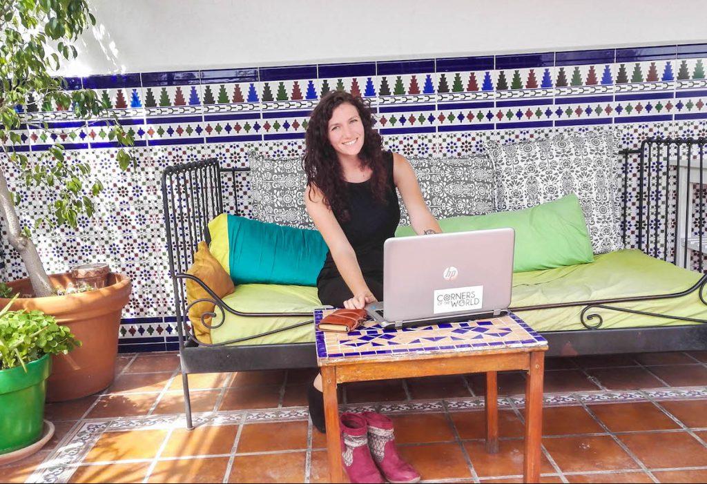 digital nomad: Jessica Lokker