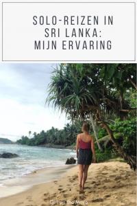 Is het veilig om als vrouw alleen naar Sri Lanka te reizen? In dit blogmijn ervaring van drie weken Sri Lanka in m'n eentje