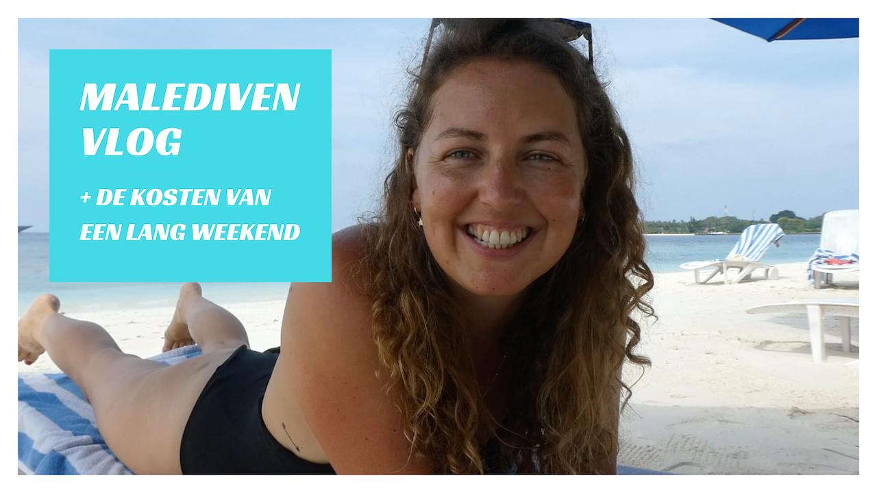 Vlog: een lang weekend op de Malediven + kosten