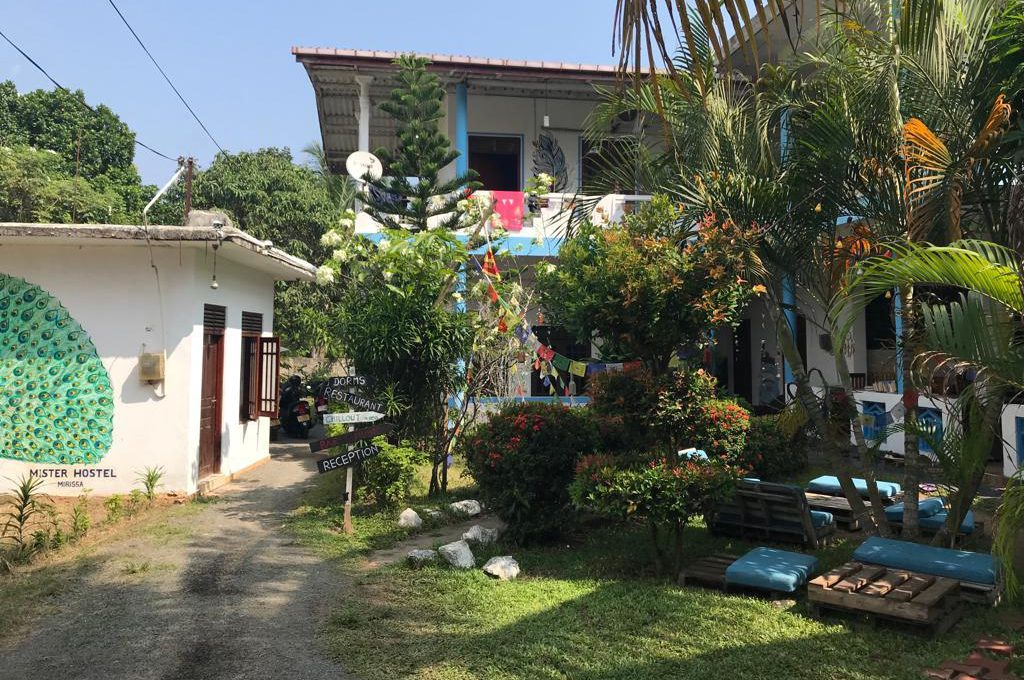 4 fijne hostels in Mirissa, Sri Lanka