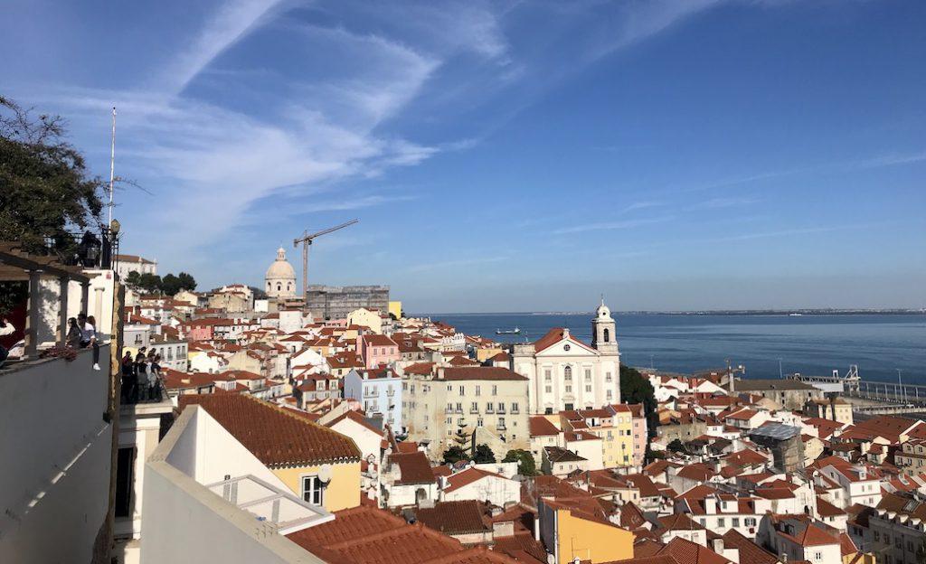 De mooiste uitkijkpunten in Lissabon