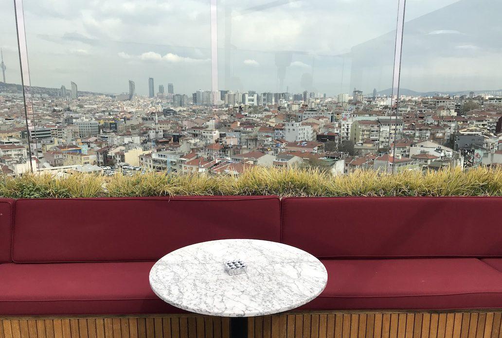 hotels in Istanbul met rooftop bar