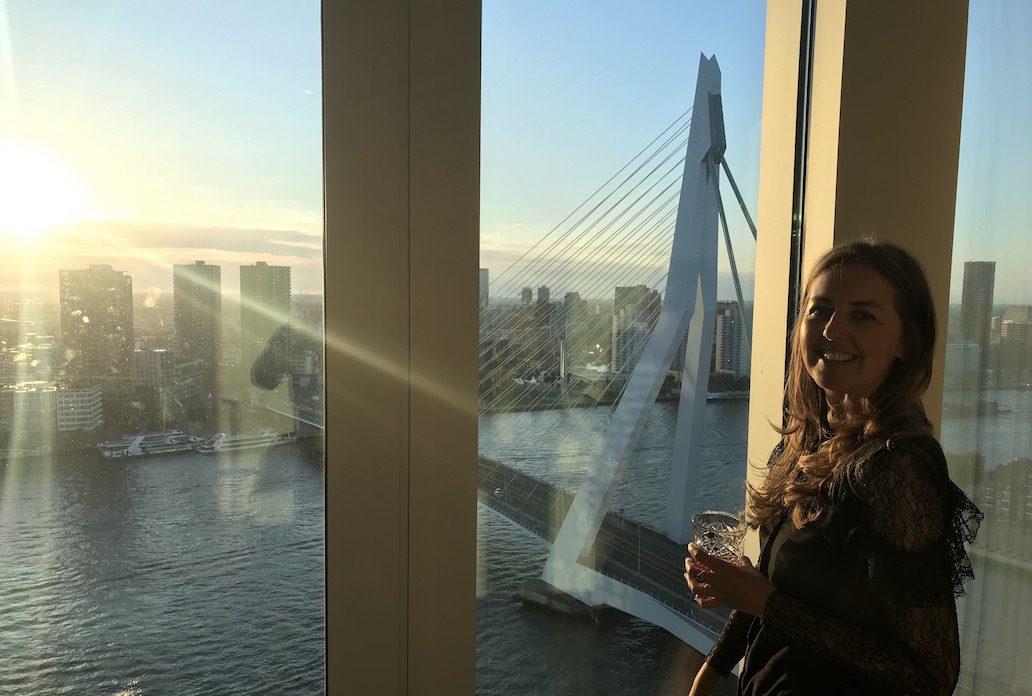 Hotel Nhow Rotterdam: slapen met uitzicht op de Maas en skyline