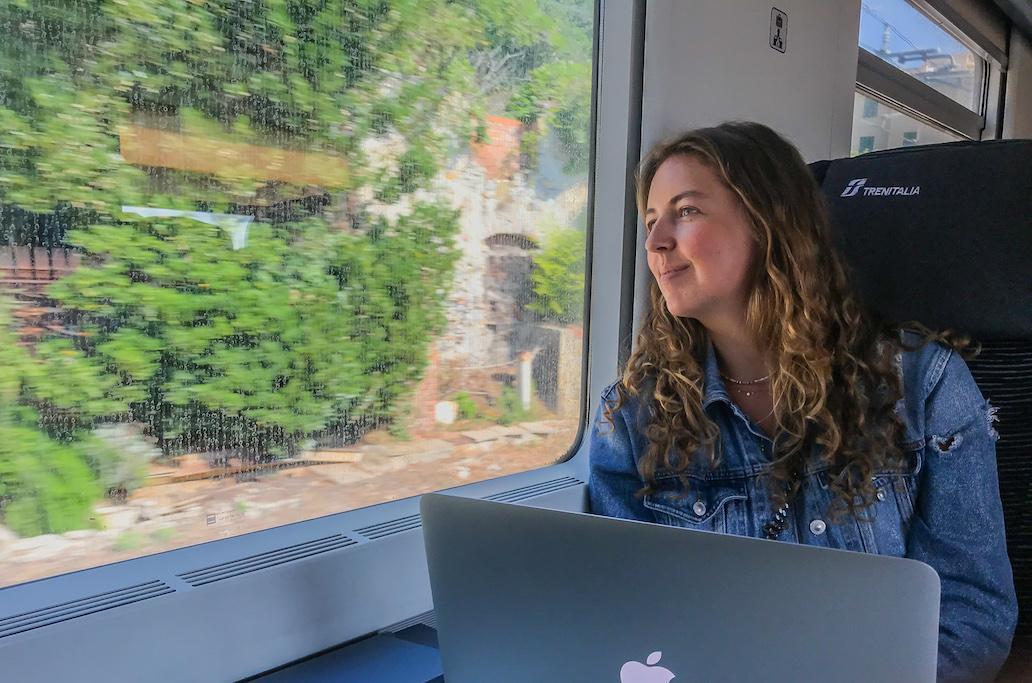 De trein als werkplek: ideaal voor digital nomads