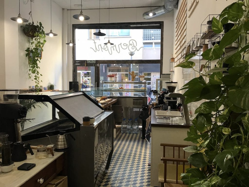 Koffietentjes in Gracia, Barcelona: Bermont Coffee