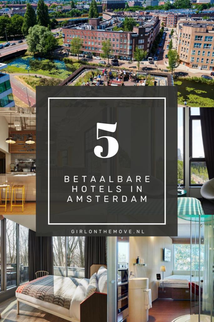 hotels in Amsterdam, Nederland: 5x modern en betaalbaar