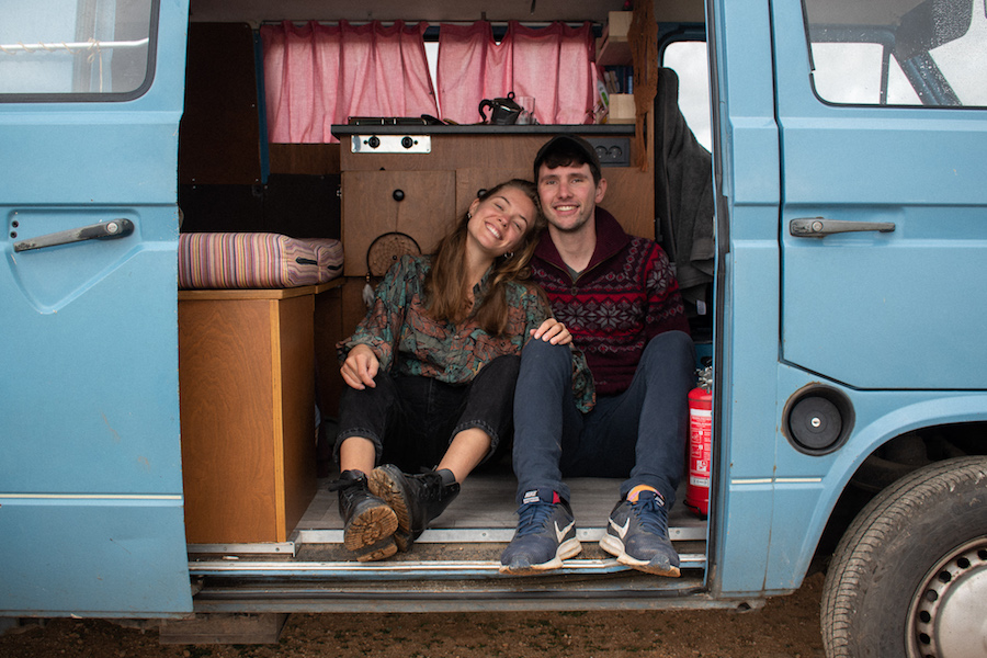 Het leven van digital nomads: William en Margje (23 & 25)