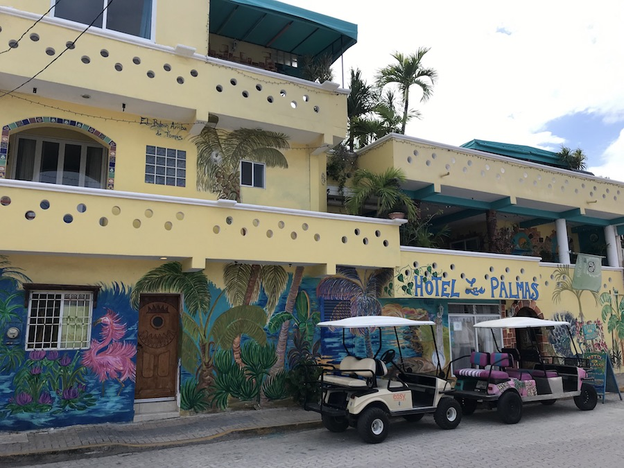 Isla Mujeres tips: golfkarretje huren