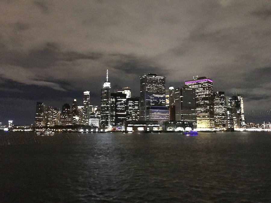 Oud en nieuw in New York vieren: Manhattan lichtjes