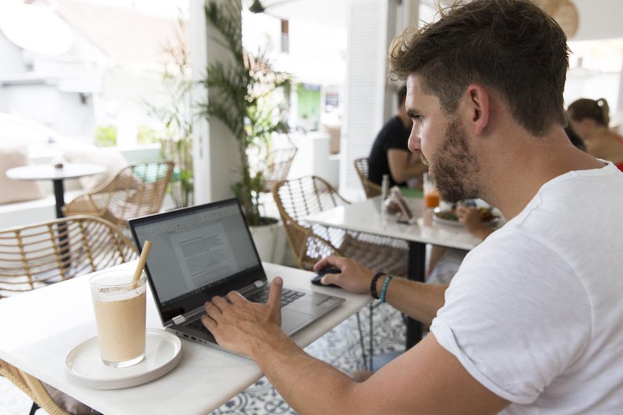 Het leven van digital nomad: Jimmy Arends (34)