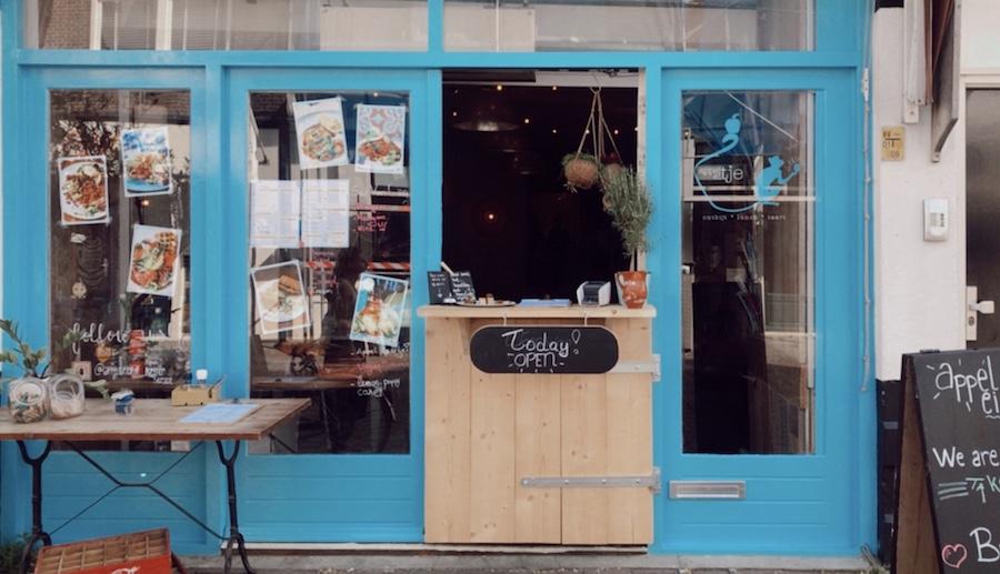 De leukste koffietentjes in Den Haag: Appeltje Eitje Keizerstraat Scheveningen