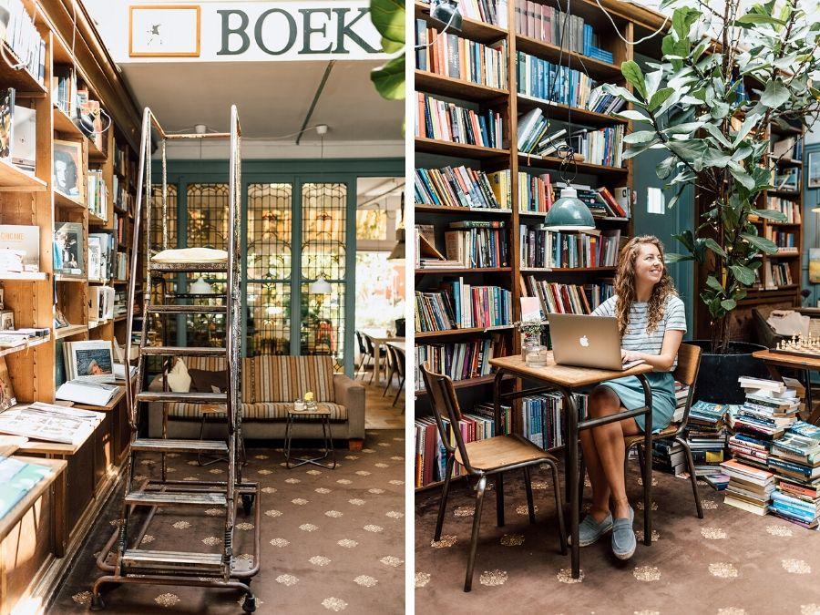 De leukste koffietentjes in Den Haag: Bookstor op het Noordeinde