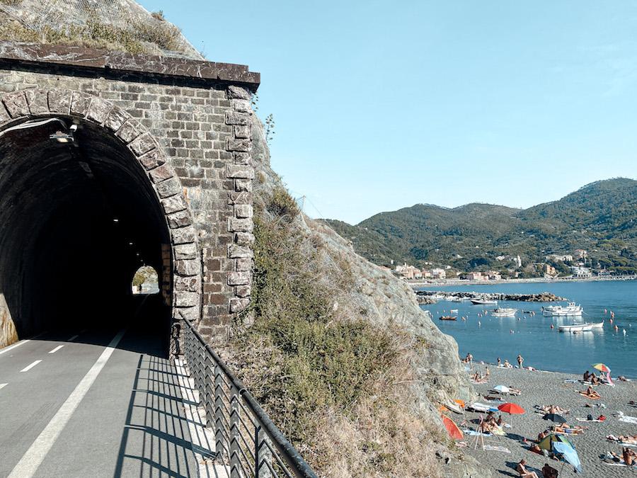 Hiken in Levanto: voormalige spoorweg