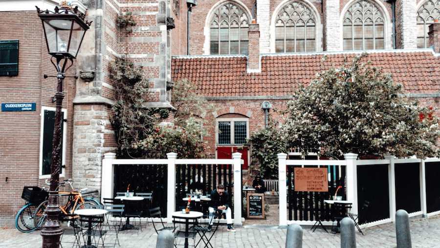 De Koffieschenkerij op de Wallen in Amsterdam