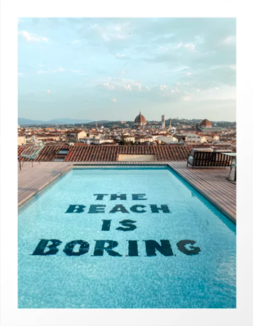 Het uitzicht in Florence, Italië