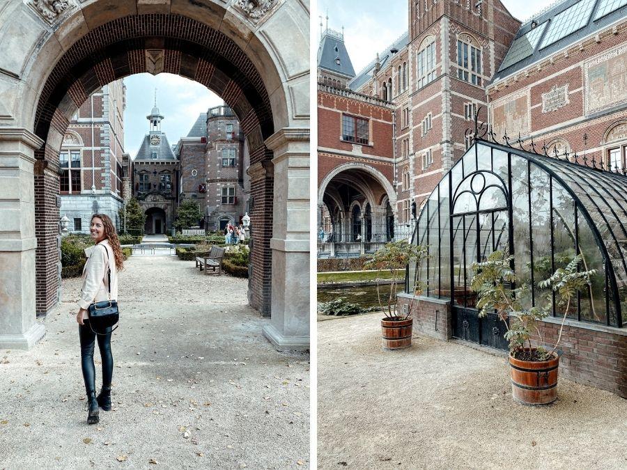 De Tuinen van het Rijksmuseum in Amsterdam