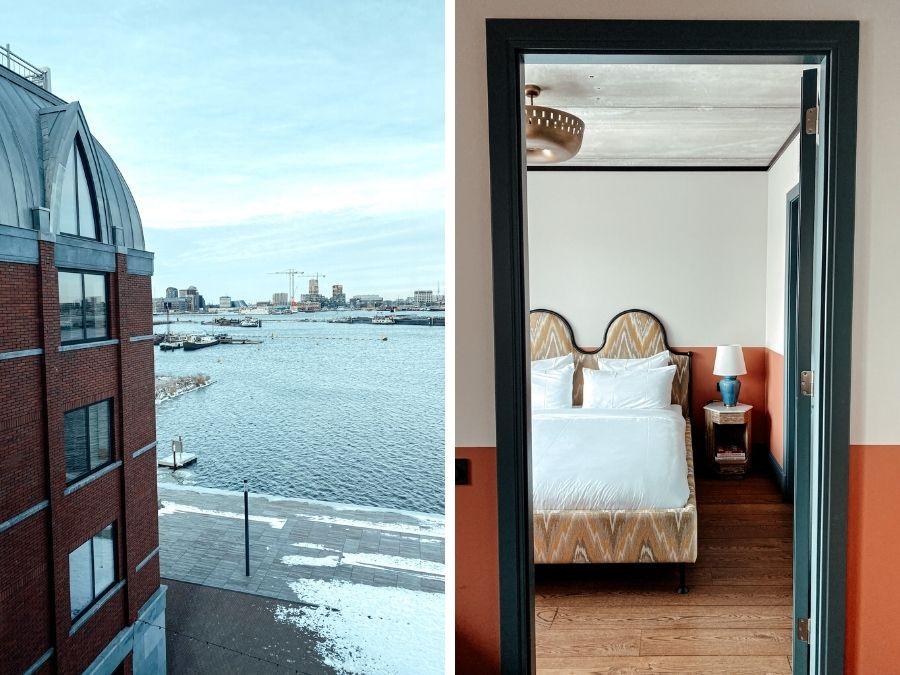 Hotel Boat & Co: slapen met uitzicht op het IJ in Amsterdam