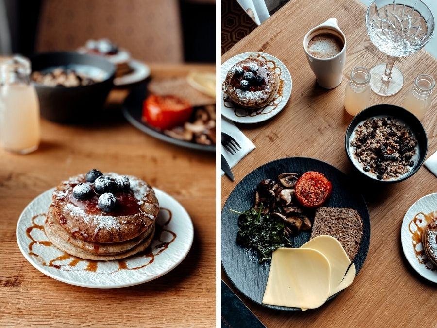 Vegan ontbijt bij het 4 Elements Hotel Amsterdam