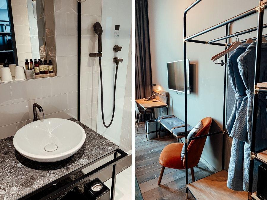 Hotelkamer in het 4 Elements Hotel Amsterdam