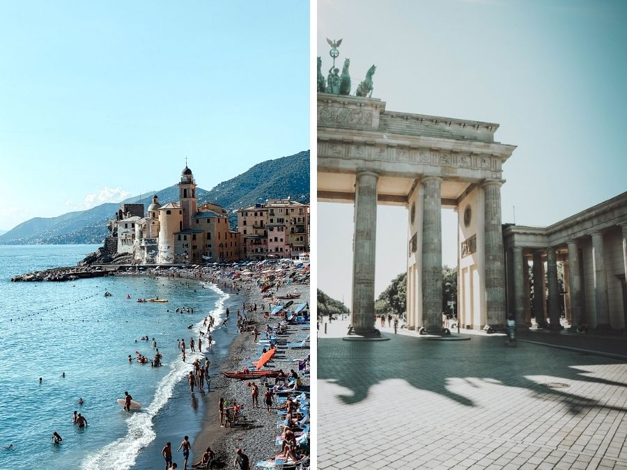 mooie plekken in Europa voor een autovakantie