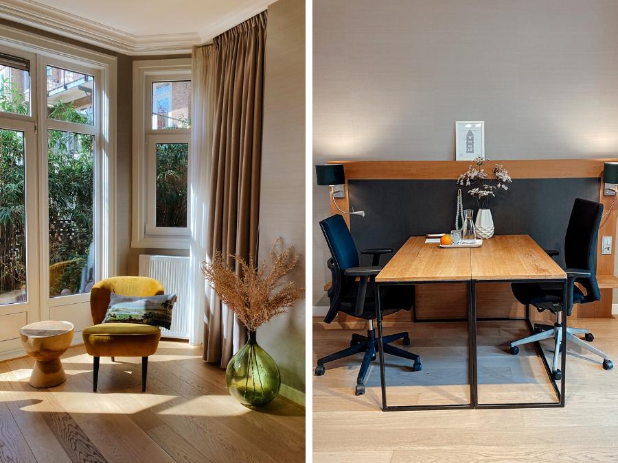 Het kantoor van The Delphi hotel in Amsterdam-Zuid