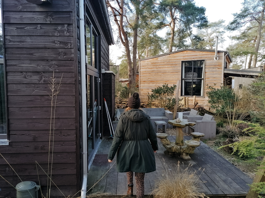 Op workation in een tiny house op de Veluwe