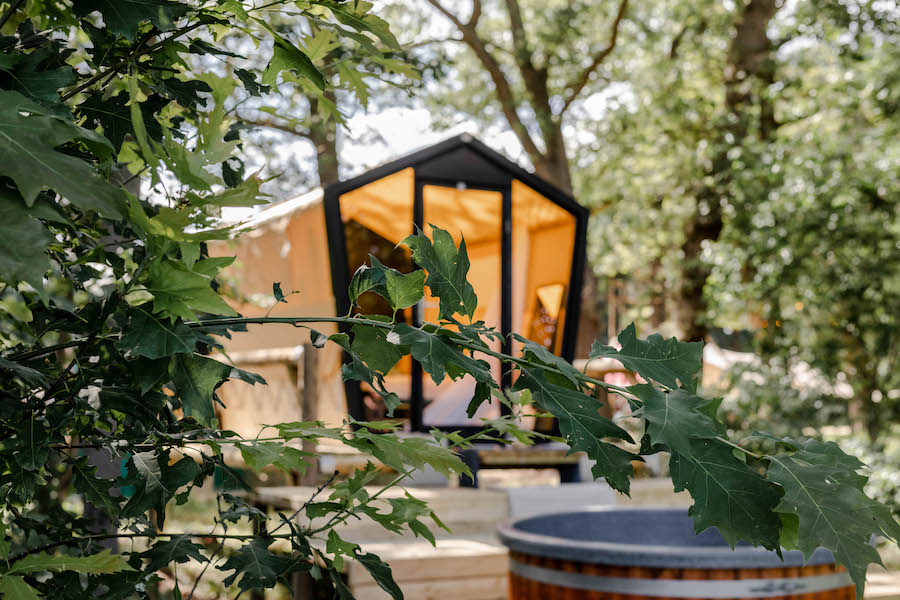 Home Away accommodatie op East Nomads pop-up camping