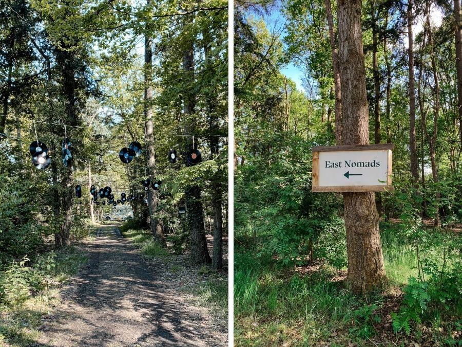 De ingang van East Nomads in Aalten, de Achterhoek