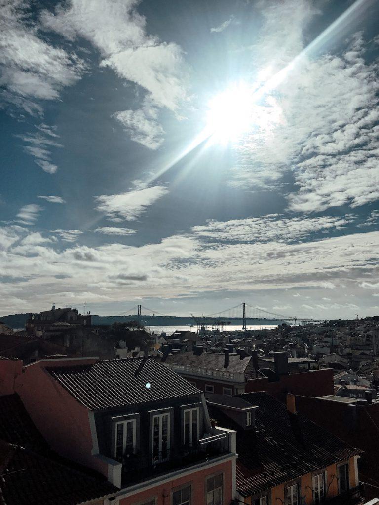 Rooftop bar in Lissabon: PARK