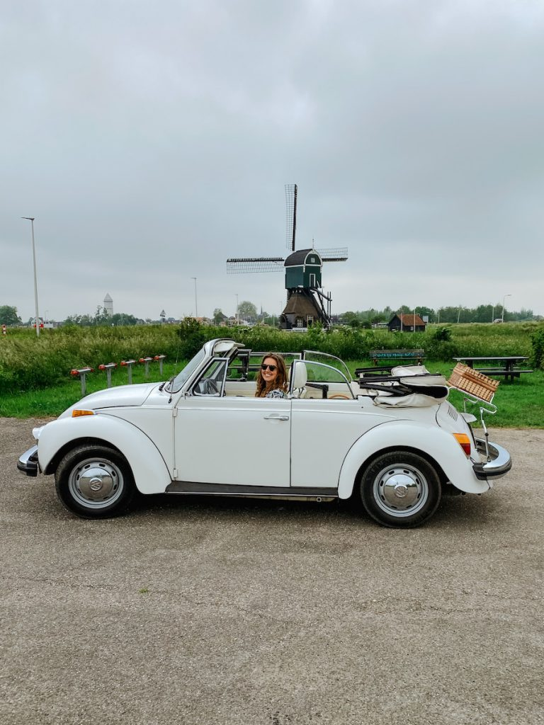 Date-idee: dagje toeren in een Volkswagen Kever Cabrio