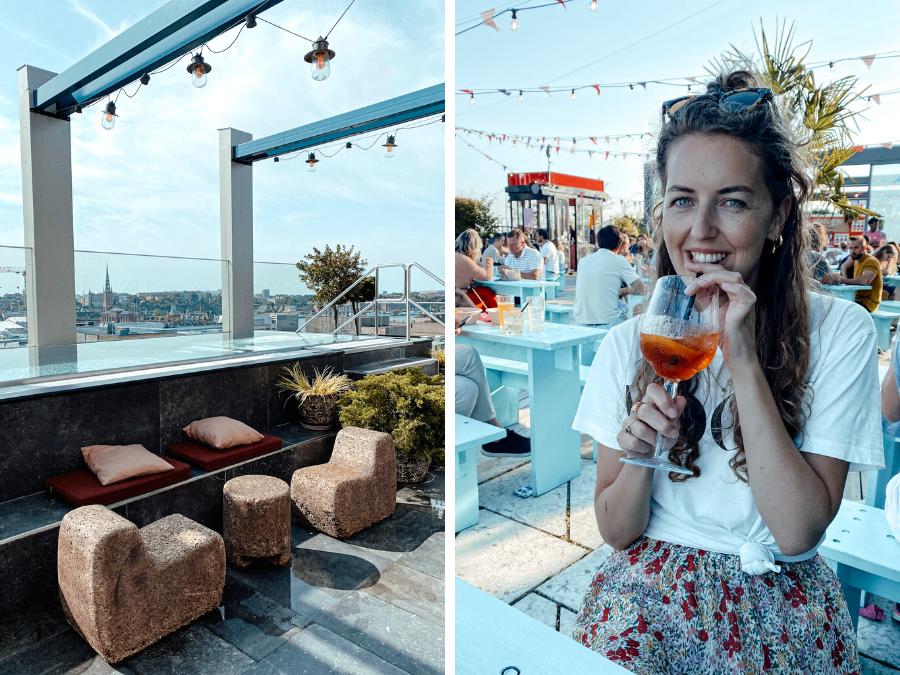 Doen in Stockholm: een rooftop bar bezoeken