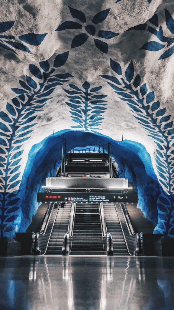Doen in Stockholm: de metrostations bekijken