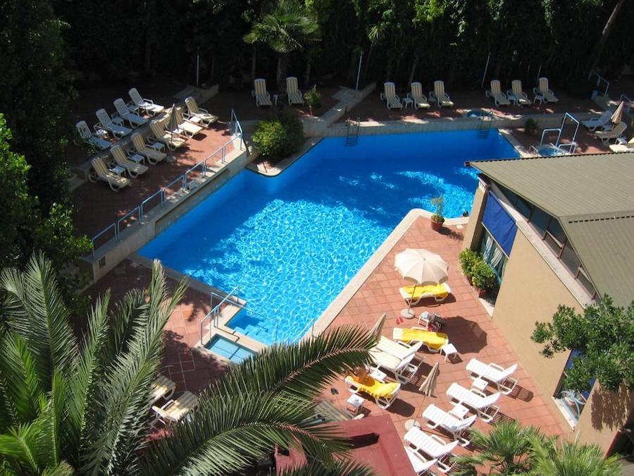 hotel met zwembad in Rome: Aldrovandi Residence City Suites