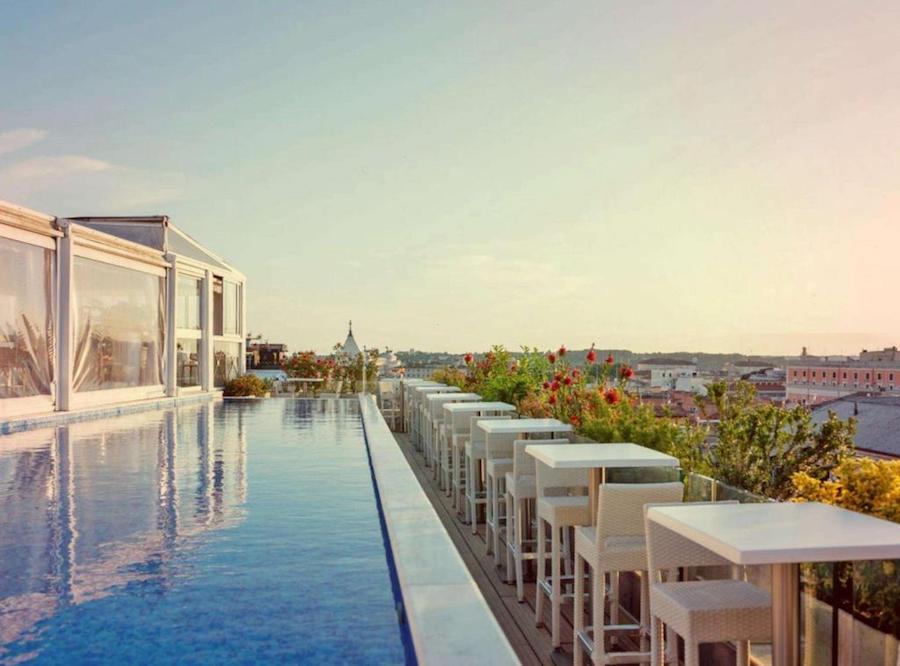 hotel met zwembad in Rome: Anantara Palazzo Naiadi