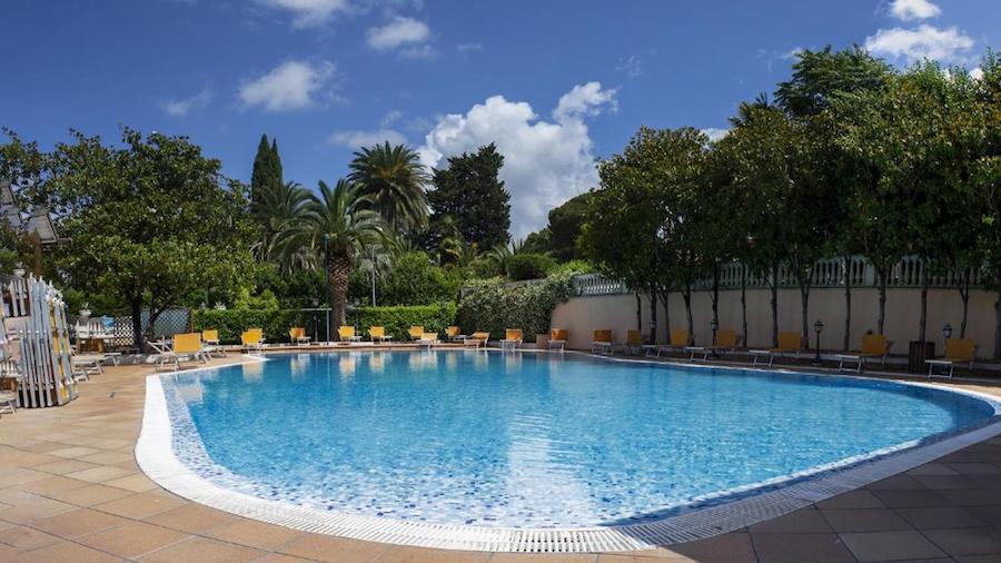 Hotel met zwembad in Rome: Grand Hotel Gianicolo