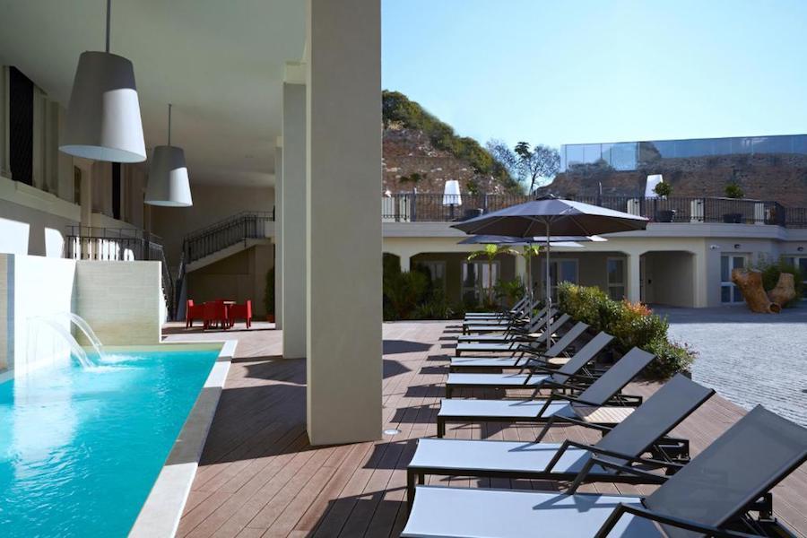 hotel met zwembad in Rome: Hotel The Building