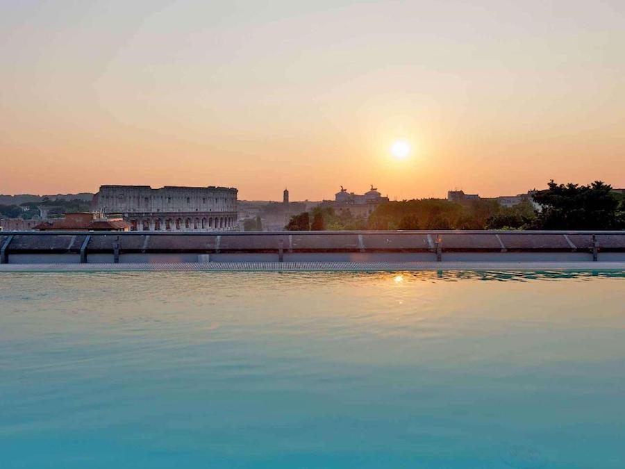 Hotel met zwembad in Rome: Mercure Roma Centro Colosseo